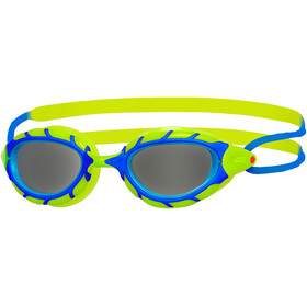 Zoggs Predator Googles Juniors Blue/Lime/Smoke